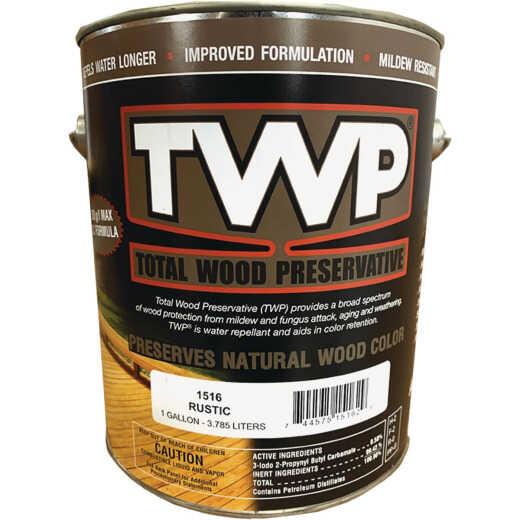 TWP1500 Series Low VOC Wood Preservative Deck Stain, Rustic, 1 Gal.