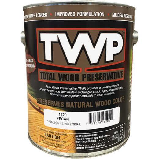 TWP1500 Series Low VOC Wood Preservative Deck Stain, Pecan, 1 Gal.
