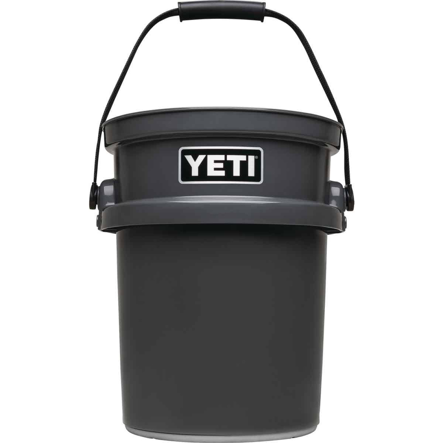 Yeti LoadOut 5 Gal. Charcoal Bucket Image 1