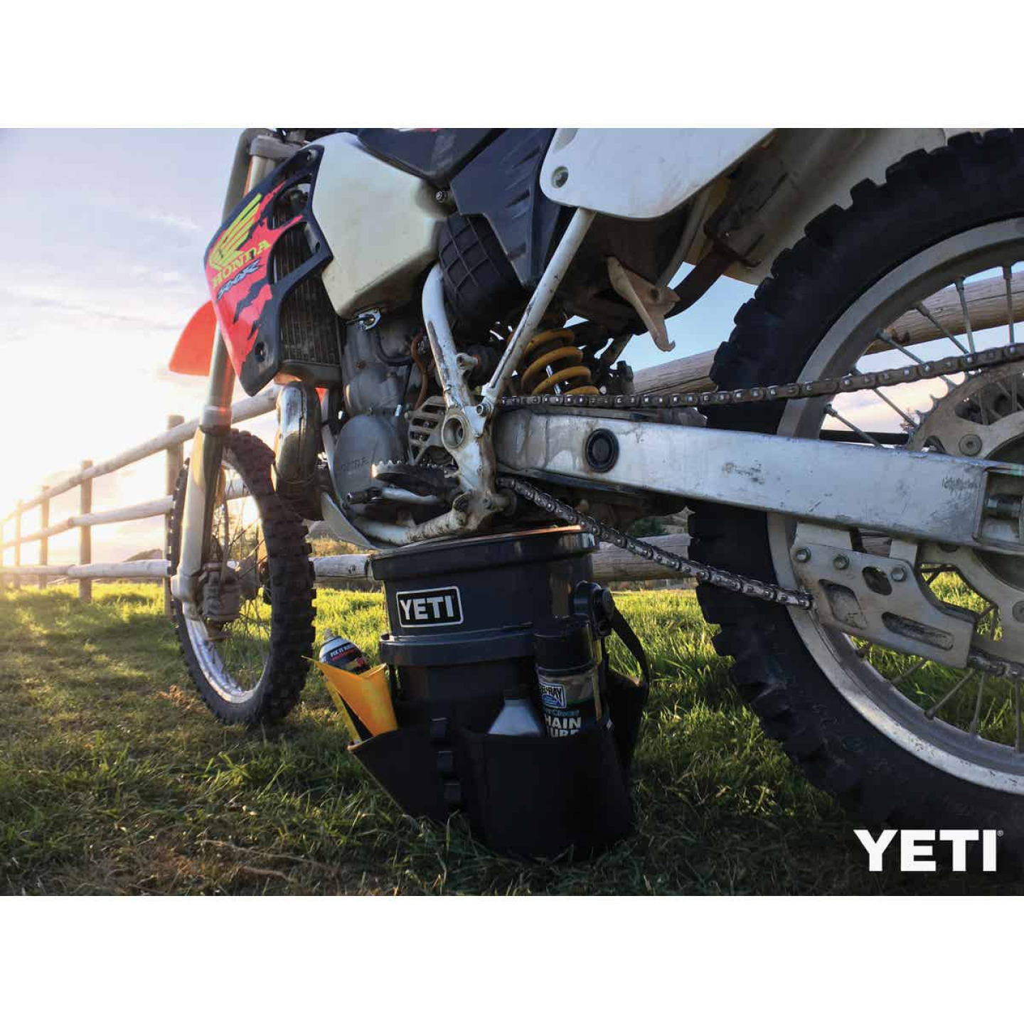 Yeti LoadOut 5 Gal. Charcoal Bucket Image 2