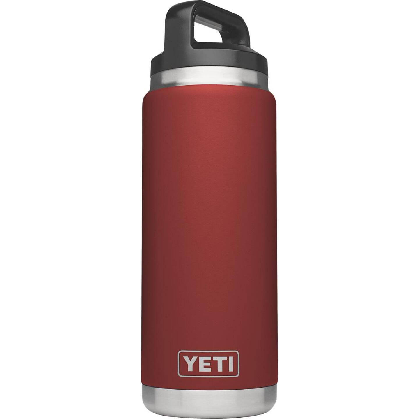 Yeti Rambler 26 Oz. Brick Red Stainless Steel Insulated Vacuum Bottle Image 1