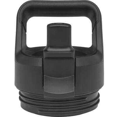 Yeti Rambler Bottle Black Plastic Straw Cap