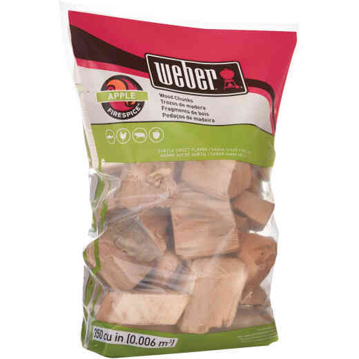 Weber FireSpice 350 Cu. In. Apple Smoking Chunks