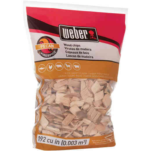 Weber FireSpice 192 Cu. In. Pecan Smoking Chips