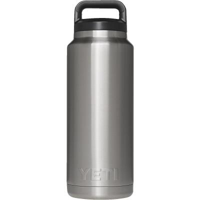 Yeti Rambler 36 Oz. Silver Stainless Steel Insulated Vacuum Bottle