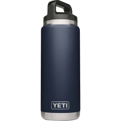 Yeti Rambler 26 Oz. Navy Blue Stainless Steel Insulated Vacuum Bottle
