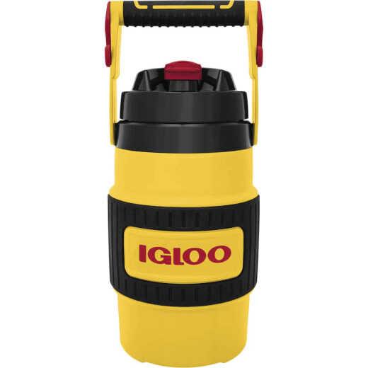 Igloo 80 Oz. Yellow Non-Slip Grip Industrial Water Jug
