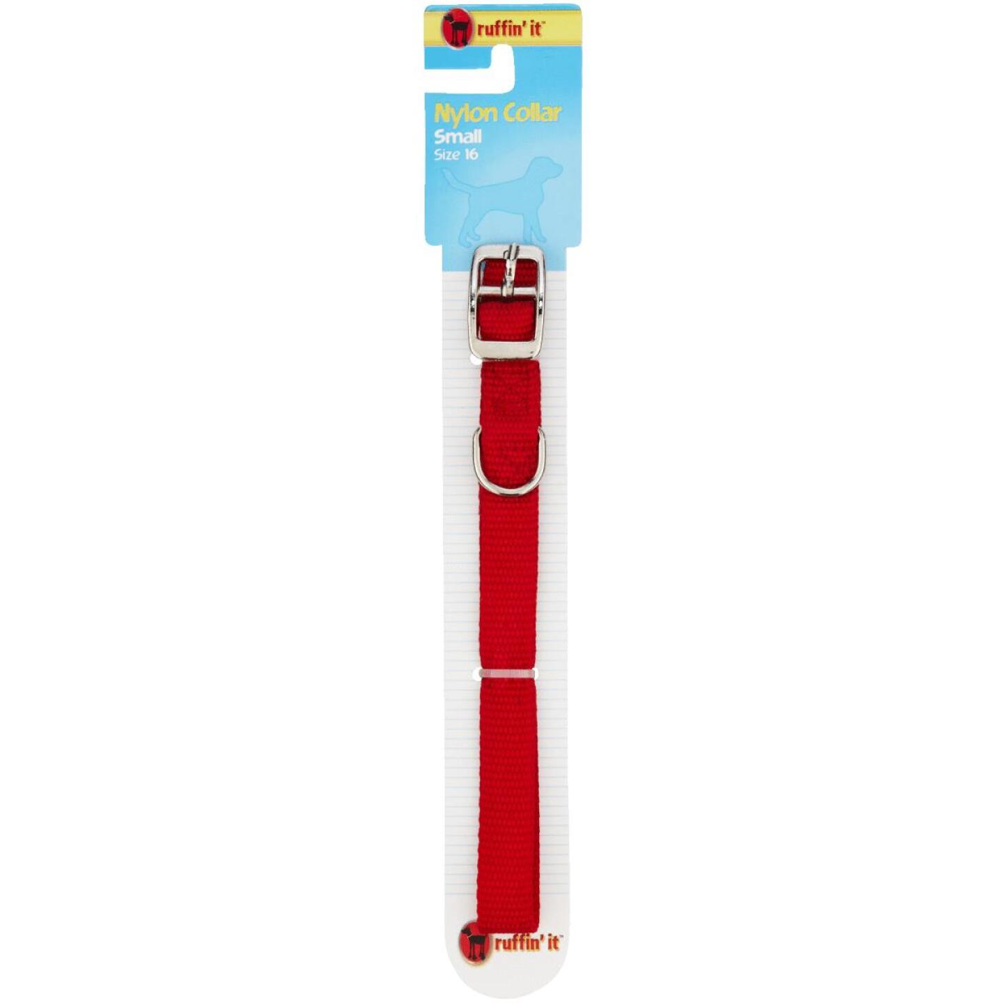 Westminster Pet Ruffin' it Adjustable 16 In. Nylon Dog Collar Image 2