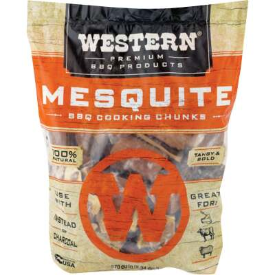 Western 6 Lb. Mesquite Wood Smoking Chunks
