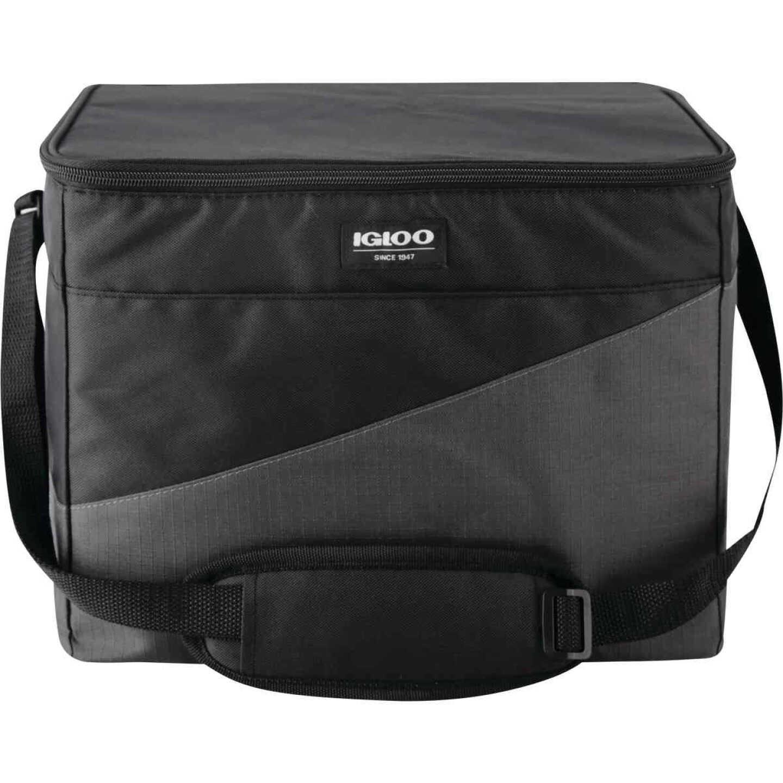 Igloo HLC 24 Sport 24-Can Soft-Side Cooler, Gray & Black Image 2