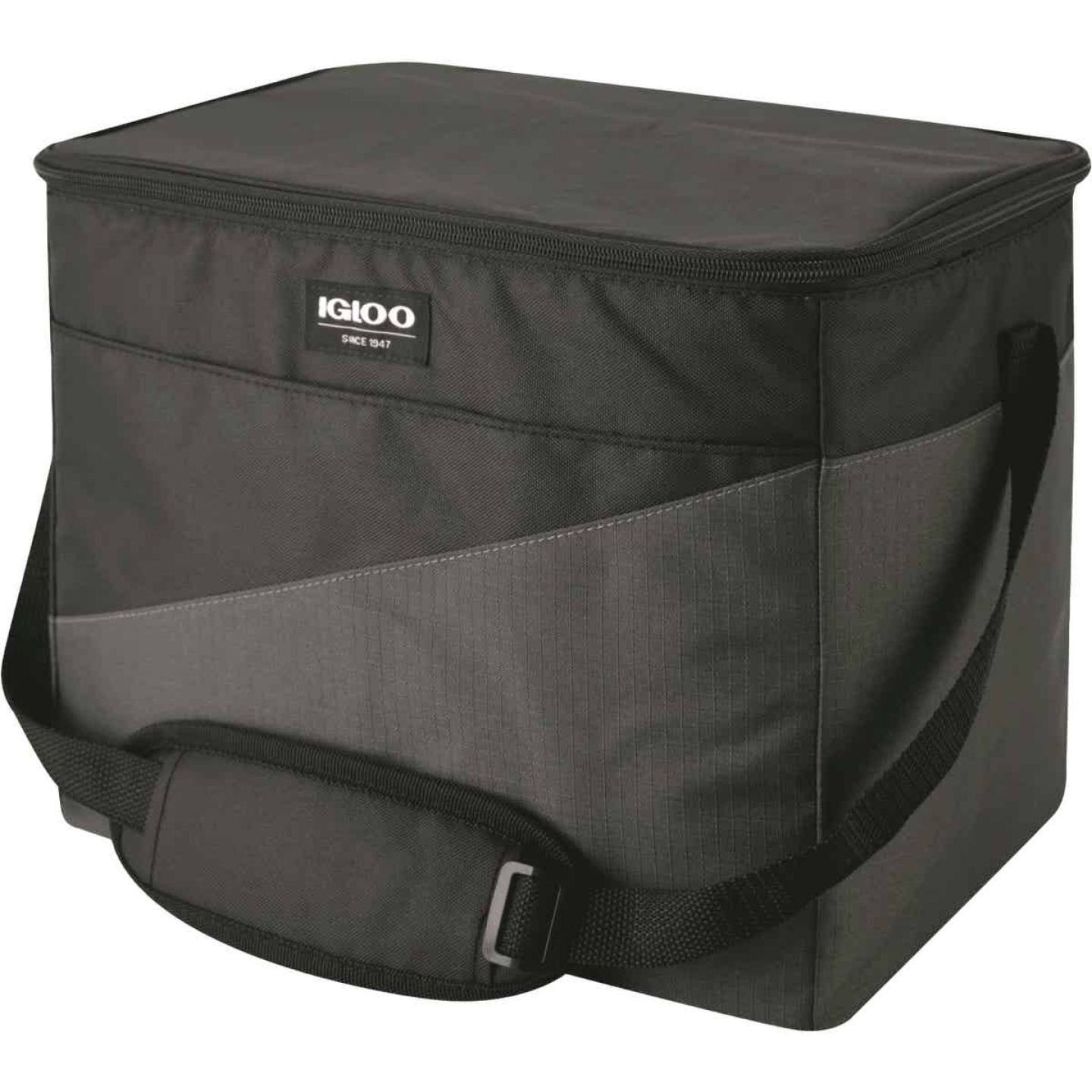 Igloo HLC 24 Sport 24-Can Soft-Side Cooler, Gray & Black Image 1
