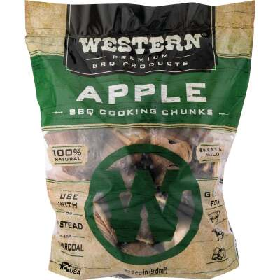 Western 6 Lb. Apple Wood Smoking Chunks