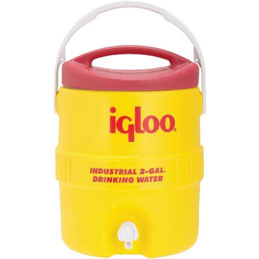 Igloo 2 Gal. Yellow Industrial Water Jug