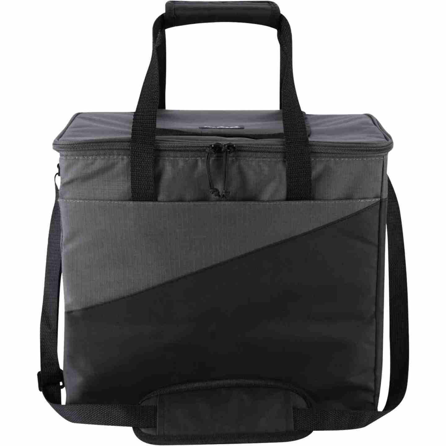 Igloo Collapse & Cool 36-Can Soft-Side Cooler, Gray & Black Image 2