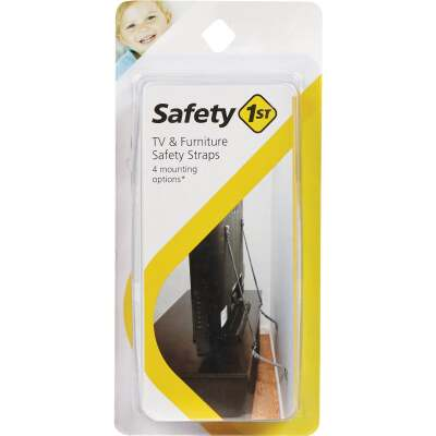 Safety 1st Black TV & Furniture Strap