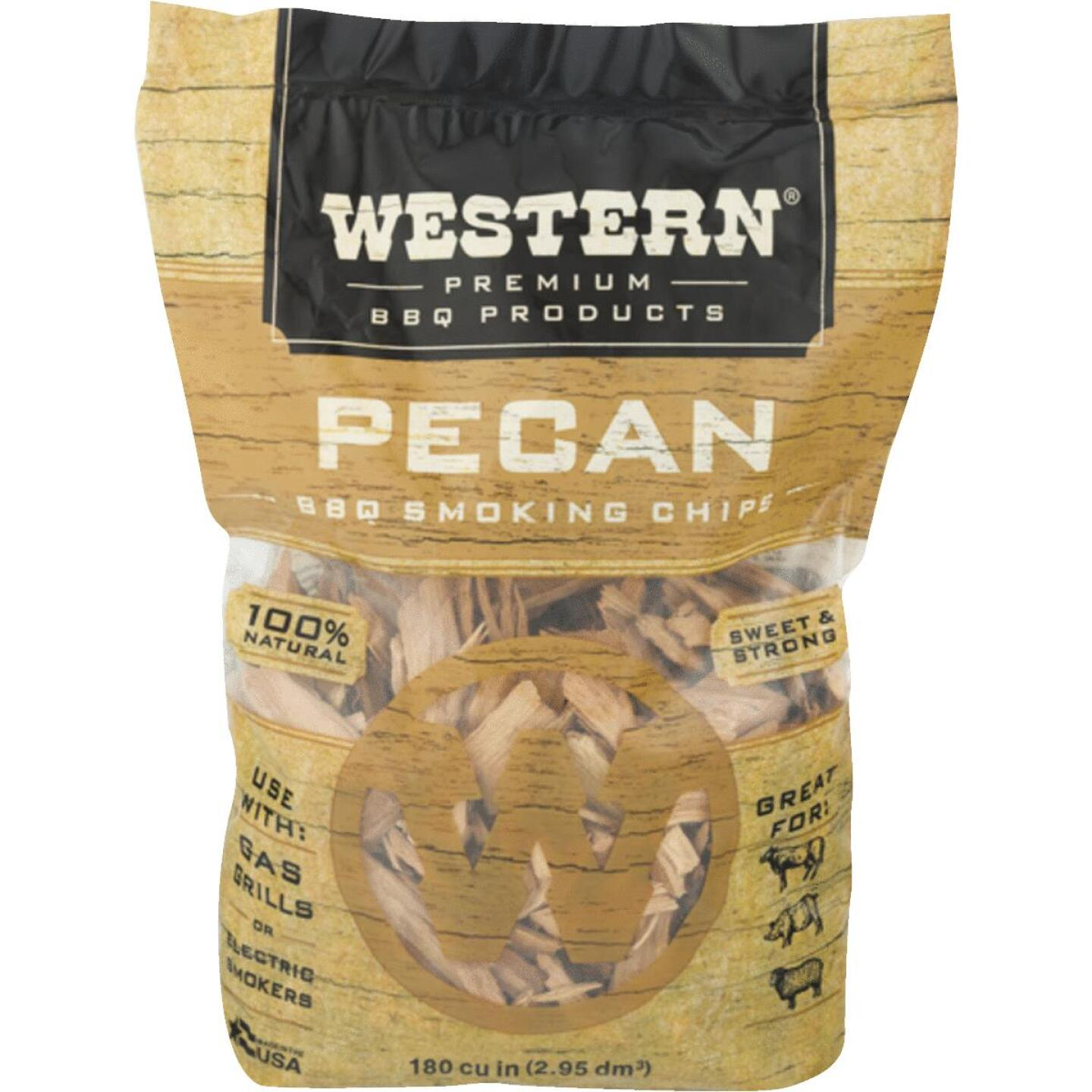 Western 2 Lb. Pecan Wood Smoking Chips Image 1