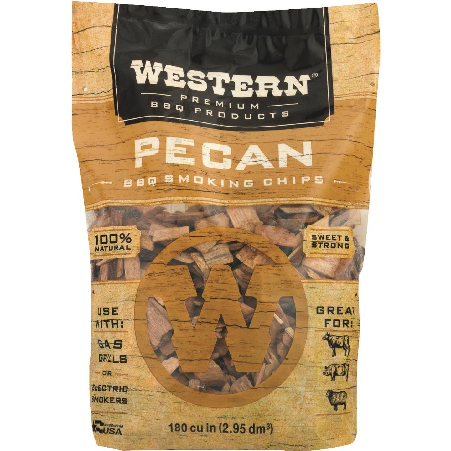 Western 2 Lb. Pecan Wood Smoking Chips Image 3