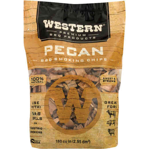 Western 2 Lb. Pecan Wood Smoking Chips