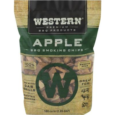 Western 180 Cu. In. Apple Wood Smoking Chips