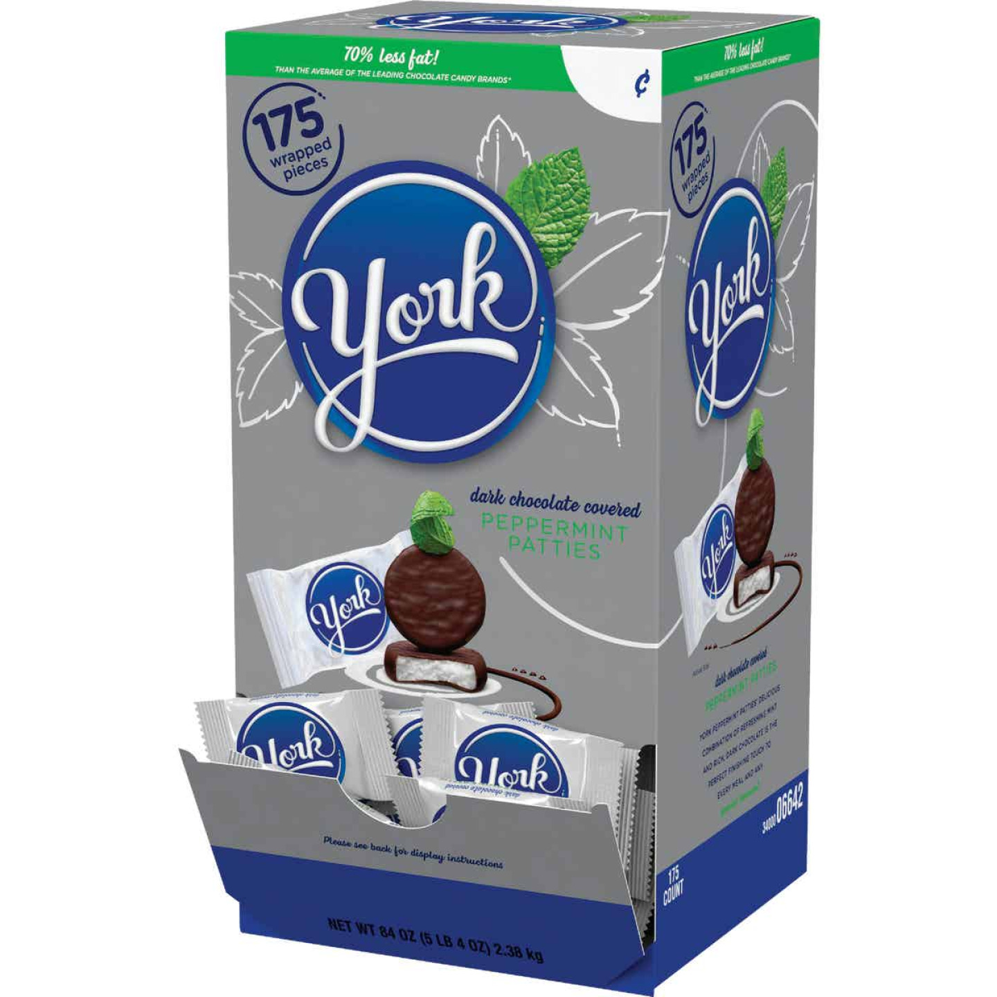 York 175 Pc. Chocolate & Peppermint Candy Image 1