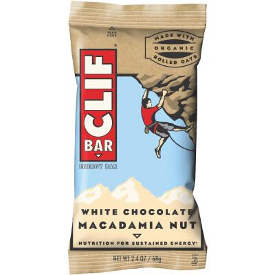 Clif Bar White Chocolate 2.4 Oz. Energy Nutrition Bar